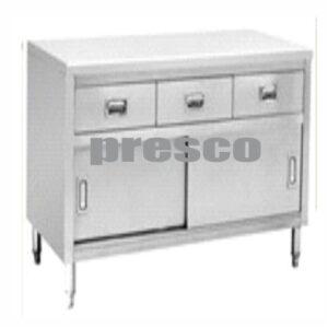 Meja Dapur dengan lemari dan laci bawah