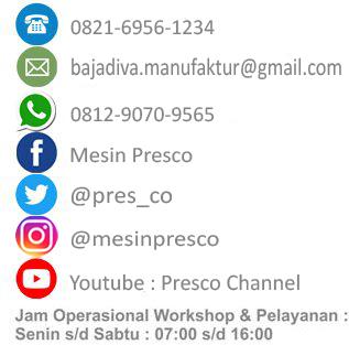 kontak media sosial blue